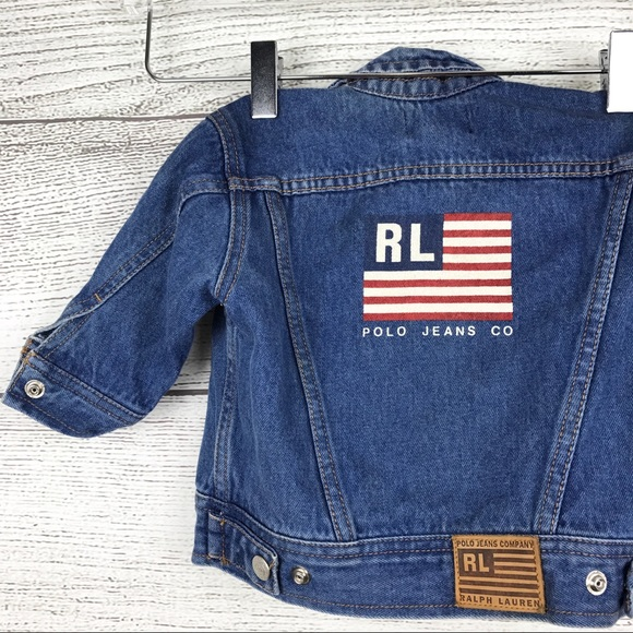 CoRalph Denim Baby Jacket Jeans Lauren Polo Yfbyv67g